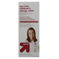 up & up Dye-Free Children's Allergy Relief