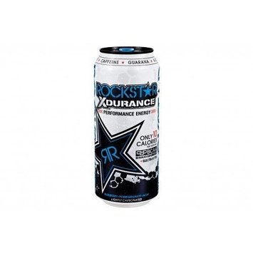 16 Pack - Rockstar Xdurance - Performance Energy - Blueberry, Pomegranate, Acai - 16oz.