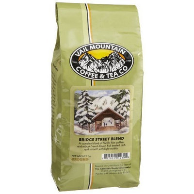 Vail Mountain Coffee & Tea Bridge Street Blend Ground Coffee, 12-Ounce Bags (Pack of 3)