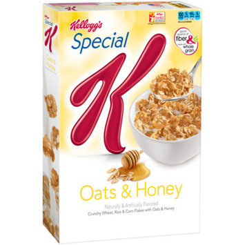 Special K Multigrain Oats and Honey Cereal, 13.1 oz