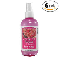 Alivio Vital 6pk - Rose Water Body Splash - Agua de Rosas