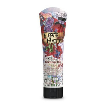 Pro Tan 2009 Love Hate Maximizing Creamy Oil For Men Tanning Lotion 9.5 oz.