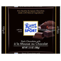 Ritter Sport Bars, Dark Chocolate