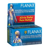 Flanax Pain Reliever/Fever Reducer - 24 CT