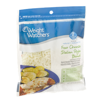 Weight Watchers Four Cheese Italian Style Blend
