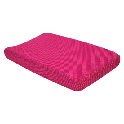 Trend Lab Pink & White Dot Changing Pad Cover