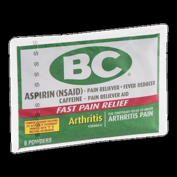 BC Aspirin Powder Arthritis Pain - 6 CT