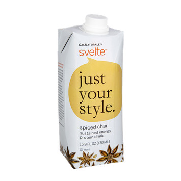 CalNaturale Svelte Spiced Chai Protein Drink