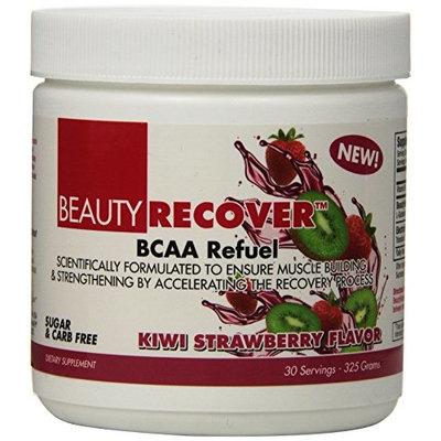 BEAUTY FIT BeautyFit BeautyRecover, BCCA Refuel For Women, Kiwi Strawberry, 314 grams