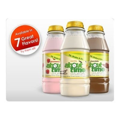 About Time Shake, RTD, Peaches N Cream, 31 gr ( Multi-Pack)