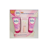 Veet in Shower Hair Removal Cream Value Pack