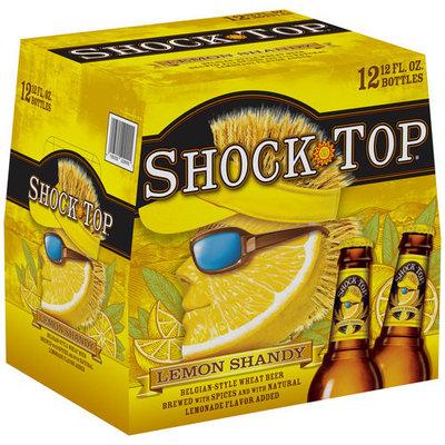 Shock Top Lemon Shandy Beer, 12 fl oz, 12 pack