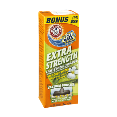 Arm & Hammer Plus The Power of OxiClean Dirt Fighters Extra Strength Carpet Odor Eliminator