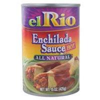 El Rio Hot Enchilada Sauce