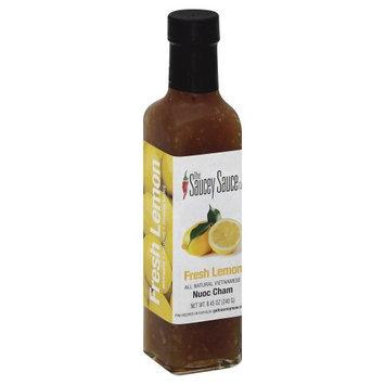 Saucey Sauce 35568 Fresh Lemon Sauce - 8.45 oz.