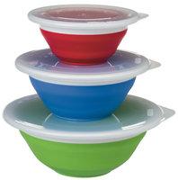 Progressive Prepworks Thinstore Collapsible Storage Bowl Set