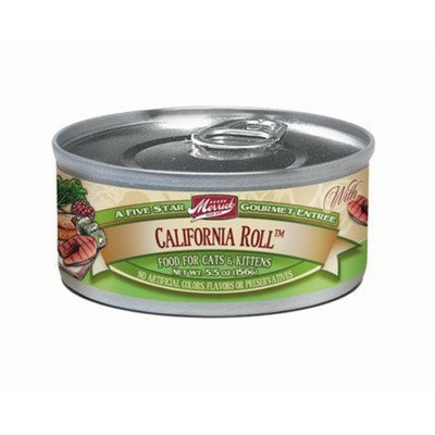 Merrick California Roll Canned Cat Food Case 3.2oz