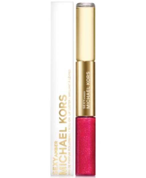 Michael Kors Collection Sexy Amber Rollerball & Lip Luster Duo