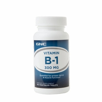 GNC Vitamin B-1 300 mg, Tablets, 100 ea