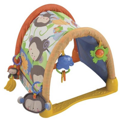Fisher-Price Fisher Price My Little SnugaMonkey Kick 'n Crawl Gym