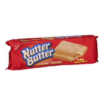 Nabisco Nutter Butter Peanut Butter Creme Patties Crispy Waffers