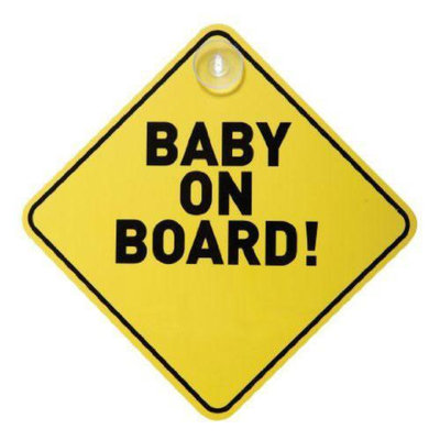Dreambaby DreamBaby L211 Baby on Board Sign