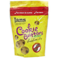 Ian's Natural Foods Gluten Free Recipe Chocolate Chip Buttons, 7-Ounce Pouches (Pack of 12)