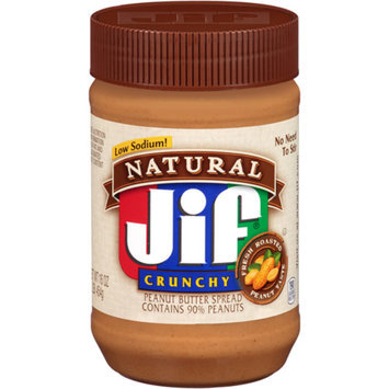 Jif Natural Crunchy Peanut Butter