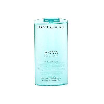 BVLGARI Aqva Marine Shampoo and Shower Gel