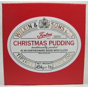 Wilkin Sons Ltd Wilkin & Sons Ltd. Tiptree Boxed Christmas Pudding in Earthenware 1 Lb
