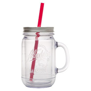 aladdin Aladdin Double-Walled Plastic Mason Jar - Pink (20 oz)
