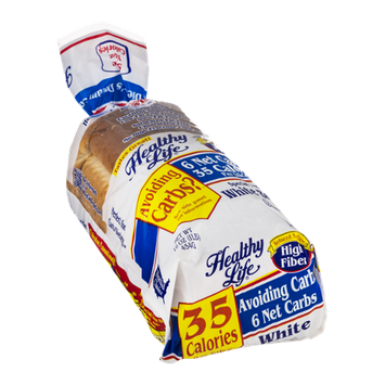 Healthy Life High Fiber White Bread