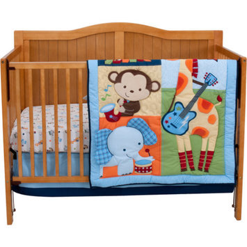 RIEGEL Riegel Tune Time 3-Piece Crib Bedding Set
