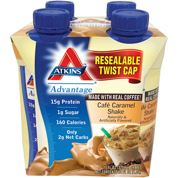 Atkins Advantage Cafe Caramel Shake
