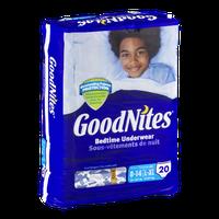 Huggies® GoodNites Bedtime Underwear Cool Designs