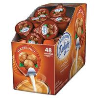 International Delight Flavored Liquid Non-Dairy Coffee Creamer, Hazelnut, 0.4375 oz Cup, 48/