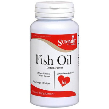 Summit Vitamins Fish Oil Softgels