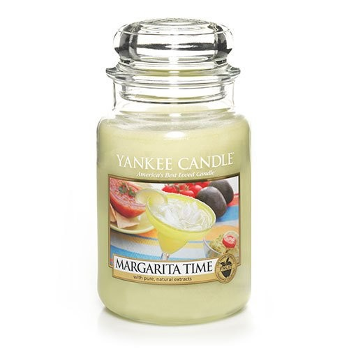 Yankee Candle Margarita Time Jar Candle, 22-Ounce, Large [Large Jar Candles]