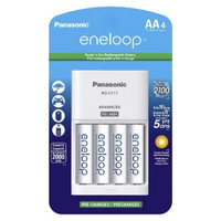 Panasonic eneloop Charger with 4AA Rechargeable Batteries