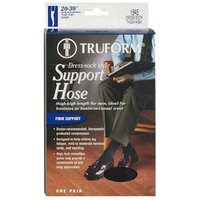 Truform Men Thigh High (20-30 mm) Support Hose w/ Silicone Stay-Up Top