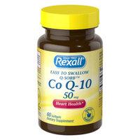 Rexall Co Q-10 50 mg - Softgels, 60 ct