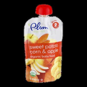 Plum Organics Organic Baby Food Sweet Potato Corn & Apple Stage 2