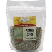 Best Of All Organic Unsalted Pumpkin Seeds -- 12 oz