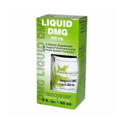 FoodScience of Vermont Liquid DMG 300 mg 2 fl oz
