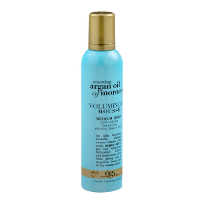 OGX® Renewing Argan Oil Of Morocco Voluminous Mousse Medium Hold