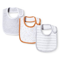 Newborn 3 Pack Bib Set - Grey by Circo