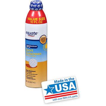 Equate Sport Continuous Spray Sunscreen, SPF 50, 10 fl oz