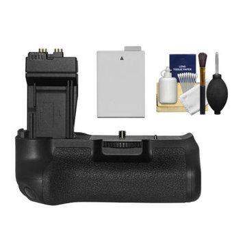 Zeikos BG-E8 Battery Grip for Canon EOS Rebel T2i, T3i, T4i & T5i Digital SLR Camera with LP-E8 Battery + Cleaning Kit