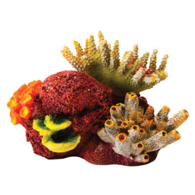 National GeographicTM Coral Cluster Aquarium Ornament