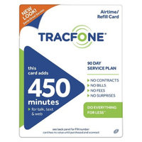 Tracfone TracFone 450 Minute / 90 Access Days